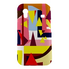 Colorful abstraction Samsung Galaxy Ace S5830 Hardshell Case