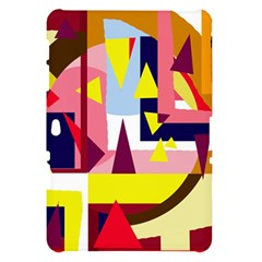 Colorful abstraction Samsung Galaxy Tab 10.1  P7500 Hardshell Case