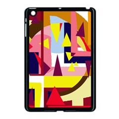Colorful abstraction Apple iPad Mini Case (Black)