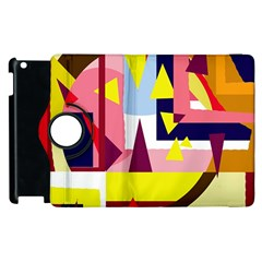 Colorful abstraction Apple iPad 2 Flip 360 Case