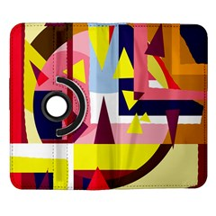 Colorful abstraction Samsung Galaxy Note II Flip 360 Case