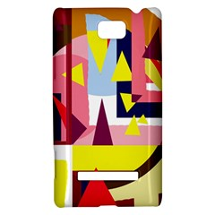 Colorful abstraction HTC 8S Hardshell Case