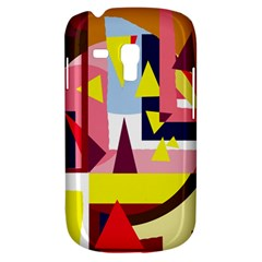 Colorful abstraction Samsung Galaxy S3 MINI I8190 Hardshell Case