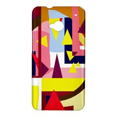Colorful abstraction HTC One M7 Hardshell Case