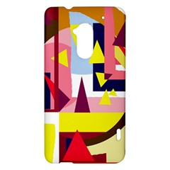 Colorful abstraction HTC One Max (T6) Hardshell Case