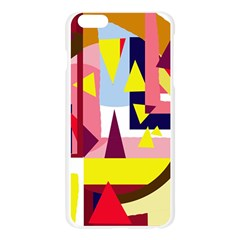 Colorful abstraction Apple Seamless iPhone 6 Plus/6S Plus Case (Transparent)