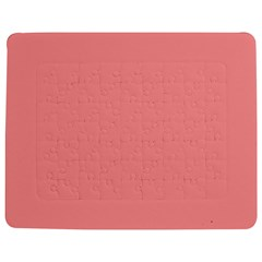 Mona Lisa Pink Colour Jigsaw Puzzle Photo Stand (Rectangular)