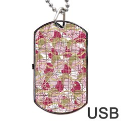 Decor Dog Tag USB Flash (Two Sides)