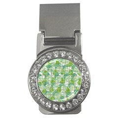 Gray decorative abstraction Money Clips (CZ)