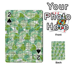 Gray decorative abstraction Playing Cards 54 Designs