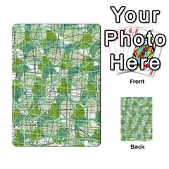 Gray decorative abstraction Multi-purpose Cards (Rectangle)