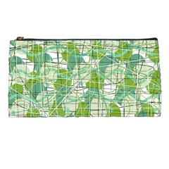 Gray decorative abstraction Pencil Cases