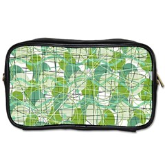 Gray decorative abstraction Toiletries Bags 2-Side