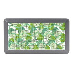 Gray decorative abstraction Memory Card Reader (Mini)