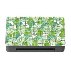 Gray decorative abstraction Memory Card Reader with CF