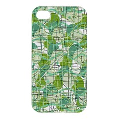 Gray decorative abstraction Apple iPhone 4/4S Hardshell Case