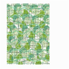 Gray decorative abstraction Large Garden Flag (Two Sides)