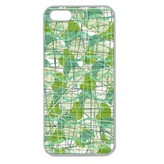 Gray decorative abstraction Apple Seamless iPhone 5 Case (Clear)