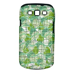 Gray decorative abstraction Samsung Galaxy S III Classic Hardshell Case (PC+Silicone)