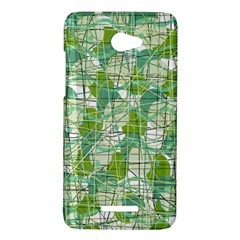 Gray decorative abstraction HTC Butterfly X920E Hardshell Case