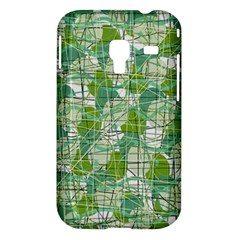 Gray decorative abstraction Samsung Galaxy Ace Plus S7500 Hardshell Case