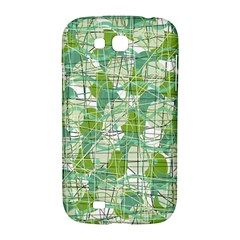 Gray decorative abstraction Samsung Galaxy Grand GT-I9128 Hardshell Case