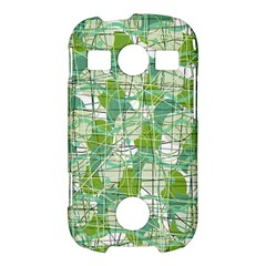 Gray decorative abstraction Samsung Galaxy S7710 Xcover 2 Hardshell Case