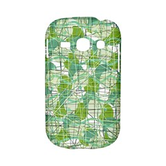 Gray decorative abstraction Samsung Galaxy S6810 Hardshell Case