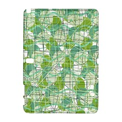 Gray decorative abstraction Samsung Galaxy Note 10.1 (P600) Hardshell Case