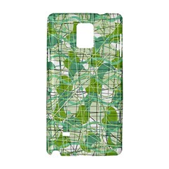 Gray decorative abstraction Samsung Galaxy Note 4 Hardshell Case