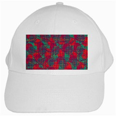 Decorative abstract art White Cap