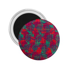 Decorative abstract art 2.25  Magnets