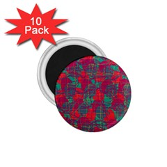 Decorative abstract art 1.75  Magnets (10 pack)