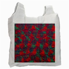 Decorative abstract art Recycle Bag (Two Side)