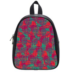 Decorative abstract art School Bags (Small)
