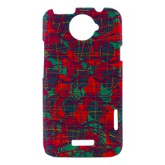 Decorative abstract art HTC One X Hardshell Case