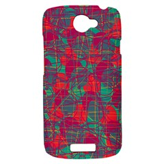 Decorative abstract art HTC One S Hardshell Case
