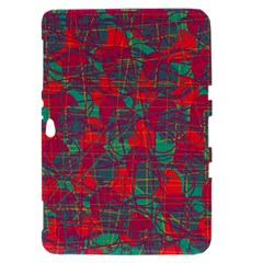 Decorative abstract art Samsung Galaxy Tab 8.9  P7300 Hardshell Case