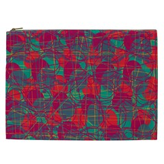 Decorative abstract art Cosmetic Bag (XXL)