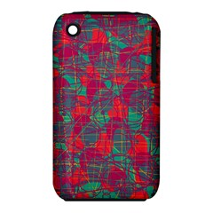 Decorative abstract art Apple iPhone 3G/3GS Hardshell Case (PC+Silicone)