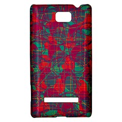 Decorative abstract art HTC 8S Hardshell Case