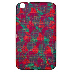Decorative abstract art Samsung Galaxy Tab 3 (8 ) T3100 Hardshell Case