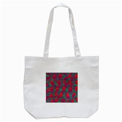 Decorative abstract art Tote Bag (White)