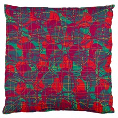 Decorative abstract art Large Flano Cushion Case (One Side)