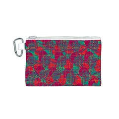 Decorative abstract art Canvas Cosmetic Bag (S)