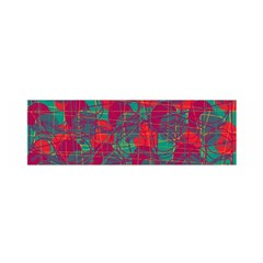 Decorative abstract art Satin Scarf (Oblong)