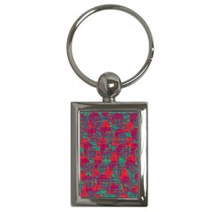 Decorative Abstract Art Key Chains (rectangle)