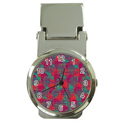 Decorative abstract art Money Clip Watches