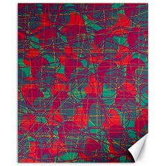 Decorative abstract art Canvas 16  x 20