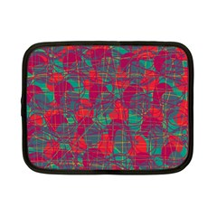 Decorative abstract art Netbook Case (Small)